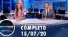 Assista à íntegra do RedeTV News de 15 de julho de 2020