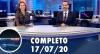 Assista à íntegra do RedeTV News de 17 de julho de 2020