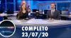 Assista à íntegra do RedeTV News de 23 de julho de 2020