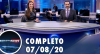 Assista à íntegra do RedeTV News de 7 de agosto de 2020
