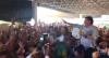 Presidente Jair Bolsonaro é ovacionado no aeroporto de Aracaju, em Sergipe