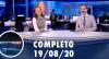 Assista à íntegra do RedeTV News de 19 de agosto de 2020