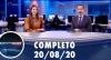 Assista à íntegra do RedeTV News de 20 de agosto de 2020