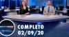 Assista à íntegra do RedeTV News de 2 de setembro de 2020