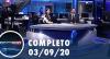 Assista à íntegra do RedeTV News de 3 de setembro de 2020