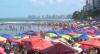 Praias do Nordeste lotam no feriado e banhistas ignoram distanciamento