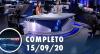 Assista à íntegra do RedeTV News de 15 de setembro de 2020