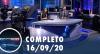 Assista à íntegra do RedeTV News de 16 de setembro de 2020