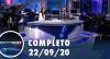 Assista à íntegra do RedeTV News de 22 de setembro de 2020