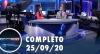 Assista à íntegra do RedeTV News de 25 de setembro de 2020