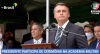 Bolsonaro participa de cerimônia na Academia Militar
