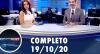 Assista à íntegra do RedeTV News de 19 de outubro de 2020