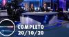 Assista à íntegra do RedeTV News de 20 de outubro de 2020