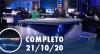 Assista à íntegra do RedeTV News de 21 de outubro de 2020