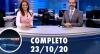 Assista à íntegra do RedeTV News de 23 de outubro de 2020