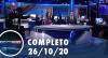 Assista à íntegra do RedeTV News de 26 de outubro de 2020
