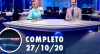 Assista à íntegra do RedeTV News de 27 de outubro de 2020