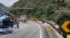 Ônibus que tombou em Guaratuba teria apresentado falha nos freios