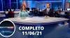 Assista à íntegra do RedeTV News de 11 de junho de 2021