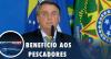 Bolsonaro participa de lançamento de sistema de recadastramento de pescador