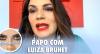 Após ser vítima de agressão do ex-marido, Luiza Brunet alerta mulheres