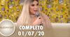 Superpop recebe Roddy Alves, a ex-Ken Humano (01/07/2020) | Completo