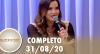 SuperPop com Geisy Arruda (31/08/20) | Completo