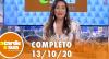 A Tarde é Sua (13/10/20)   Completo
