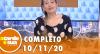 A Tarde é Sua (10/11/20)   Completo