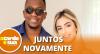 """Mumuzinho reata casamento com Thainá Fernandes: """"O amor prevalece"""""""