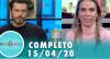 Tricotando (15/04/2020)   Completo