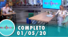 Tricotando (01/05/2020) | Completo