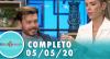 Tricotando (05/05/2020) | Completo