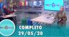 Tricotando (29/05/2020) | Completo