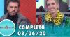 Tricotando (03/06/2020) | Completo