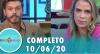 Tricotando (10/06/2020) | Completo