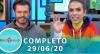 Tricotando (29/06/2020) | Completo
