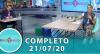 Tricotando (21/07/2020)   Completo