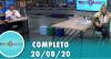 Tricotando (20/08/2020) | Completo