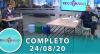 Tricotando (24/08/2020) | Completo