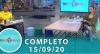 Tricotando (15/09/2020) | Completo