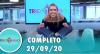Tricotando (29/09/2020) | Completo