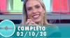 Tricotando (02/10/2020) | Completo