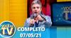 Você na TV (Reapresentação do dia 07/05/21)   Completo
