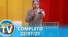 Você na TV (22/07/21) | Completo