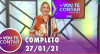 Vou Te Contar (27/01/2021) | Completo