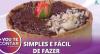 """Receita de """"Torta de Chocolate com Pitanga"""": leva farinha de aveia"""