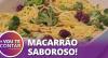 Receita de Macarrão Talharim ao Brócolis e Bacon: aprenda a fazer