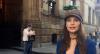 Júlia Pereira confere pontos turísticos de NY