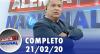 Alerta Nacional (20/02/20) | Completo